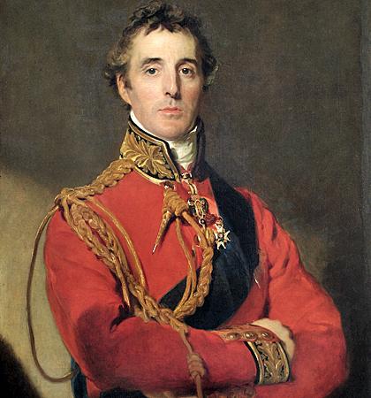 "APSLEY HOUSE, London. ""Arthur Wellesley, 1st Duke of Wellington"" c.1815 by Sir Thomas LAWRENCE (1769-1830). WM 1567-1948."