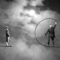 Gilbert Garcin, Poesia en blanco y negro